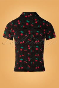 Pussy Deluxe 32112 Cherry Dots Blouse 20190917 004 W