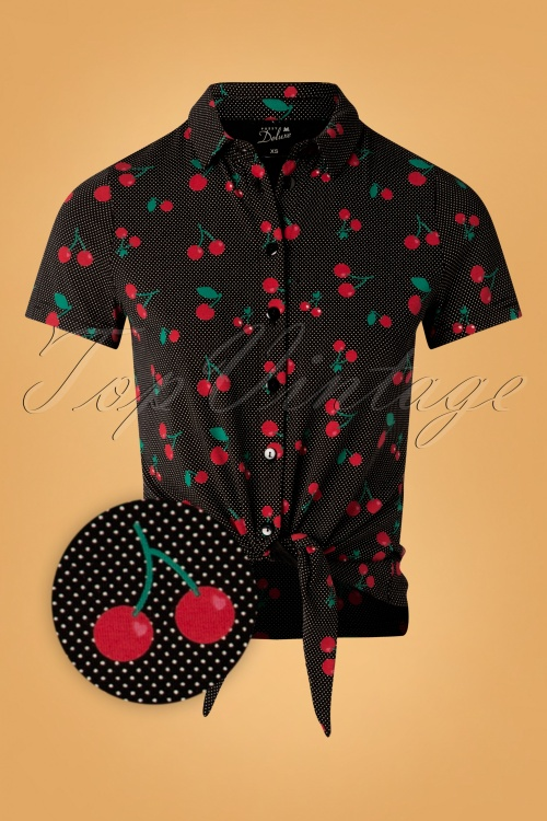Pussy Deluxe 32112 Cherry Dots Blouse 20190917 001 Z