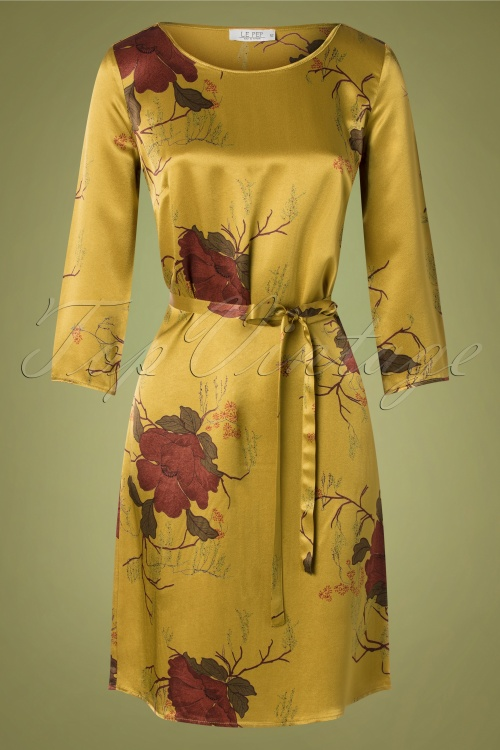Le Pep 30022 Pencildress Becky Musterd Satin Floral 09162019 003 W