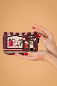60s Vintage Shop Ziparound Wallet