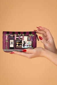 50s Cake Boutique Ziparound Wallet in Magenta