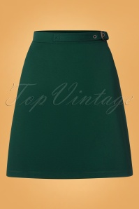 4FF 31794 Skirt Green 190918 0002W