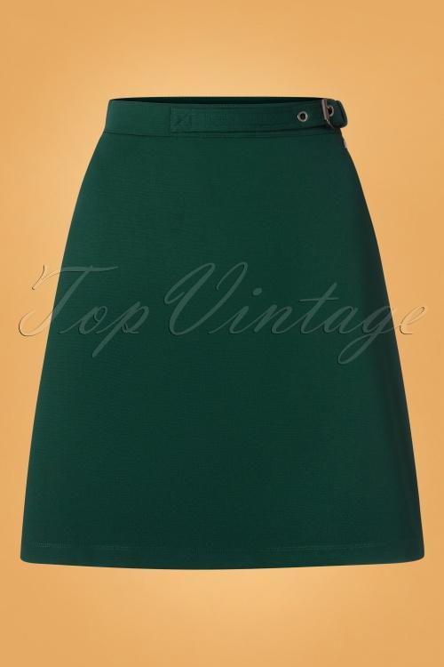 4FF 31794 Skirt Green 190918 0002W