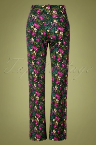 Tante Betsie 29193 Baggy Trousers Flowers 190918 0006W