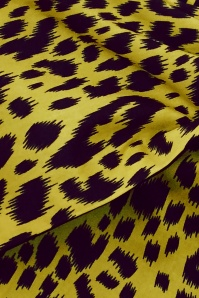 BeBop 31195 Yellow Leopard Hairband 20190909 020L D