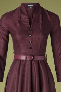 Sheen 30961 Helena Dress Red20190920 012V