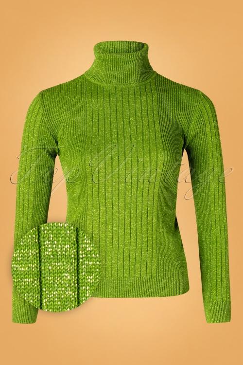 Mademoiselle YeYe 29595 Let's Roll Knit green20190920 014W1