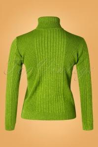 Mademoiselle YeYe 29595 Let's Roll Knit green20190920 006W