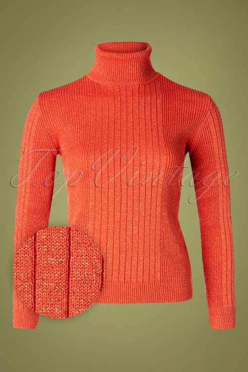Mademoiselle YeYe 29596 Let's Roll Knit Red20190920 015W1