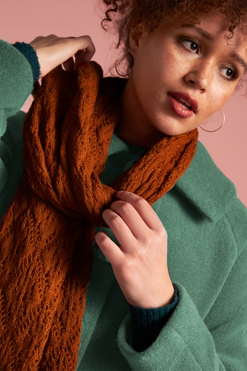 King Louie 29558 Scarf Moritz in Brunette Brown 20190909 022L copy