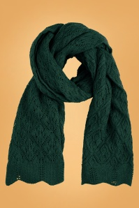 King Louie 29557 Scarf Moritz in Pine Green 20190909 020L copy