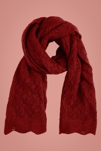King Louie 29559 Scarf Moritz in True Red 20190911 020L copy