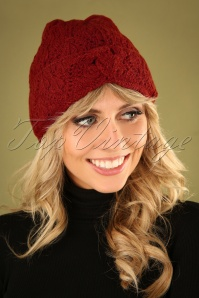 70s Moritz Hat in True Red