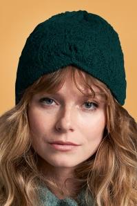70s Moritz Hat in Pine Green