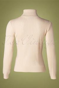 Mademoiselle YeYe 29597 Let's Roll Knit white20190920 006 W