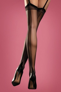 Diva Sensual Stockings en Noir