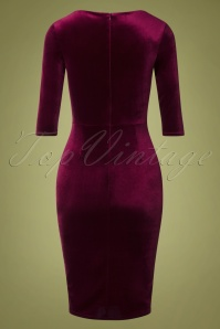 Vintage Chic 31531 Velvet Pencil Dress 20190923 006W