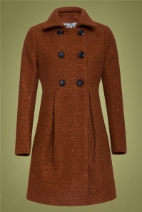 60s Immy Coat in Brown