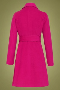 Smashed Lemon 30226 Coat in Fuchsia 20190916 021LW