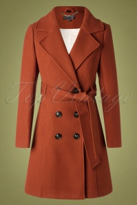 Smashed Lemon 30225 Coat in Tobacco Orange 20190924 009W