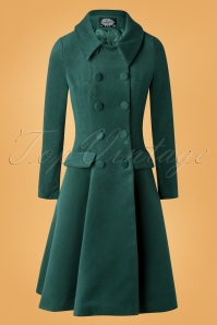 Hearts Roses 31114 Coat Green 09252019 002W
