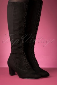 Tamaris 29662 Boots Black Suede 20190924 013 W