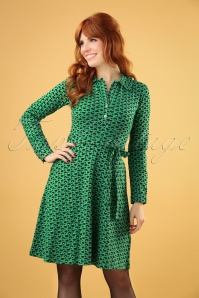 Circus 29346 Beanstalk Green Swing Dress 20190617 040MW