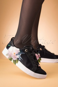 50s Rialy Rose Sneakers in Black