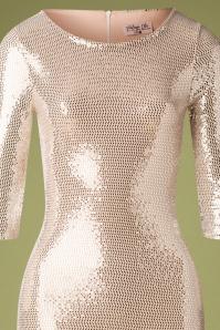 Vintage Chic 31627 Silver Pencil Dress 20190927 002V