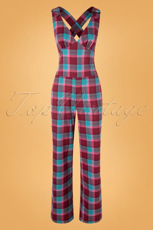 Vixen 30948 Jumpsuit Piper 70s Karo Multy 09302019 002 W