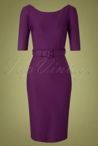Zoe Vine 31059 Pencildress Margot Aubergine 09302019 003W