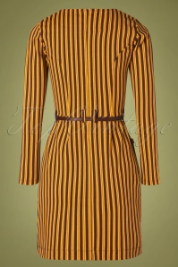 4FF 29090 Pencildress Stripes Okar Brown 09302019 006W