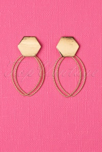 20s Gemma Earrings in Gold
