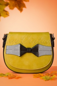 Banned 29236 Bag Olive Balck Ribbon 090519 0025w
