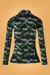 Tante Betsy 29185 Shirt Buttons Black Dragonfly 10012019 005 W