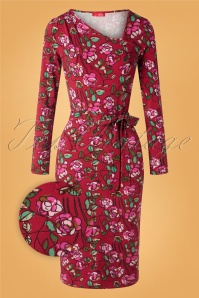 Wow To Go 30006 Pencildress Nancy Bordo Floral Ribbon 10022019 001 Z