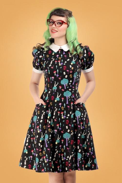 Collectif 29854 peta in wonderland swing dress 20190415 020LW
