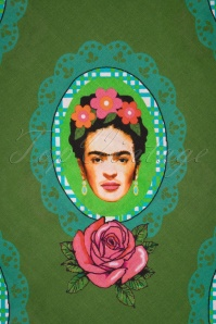 Tante Betsy 29196 Shawl Green Frida Carlo Roses 10032019 004 W