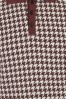 Collectif 31580 Pablo Dogtooth Polo Shirt in Red 20190930 023L