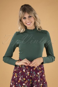 60s Betty Top in Green Gables