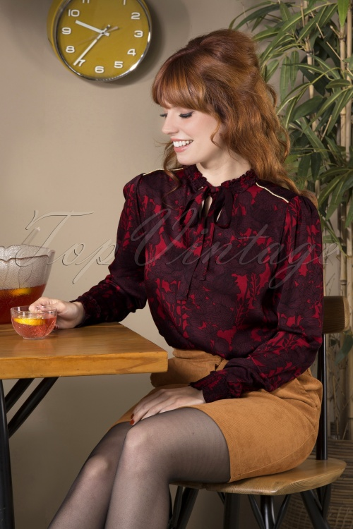 Le Pep 30023 Barbie Blouse in Red   20190801 040MW