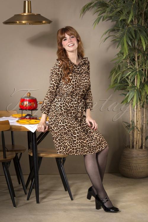 Mademoiselle Yeye 29575 Dancing Leopard Dress 20190822 040MW