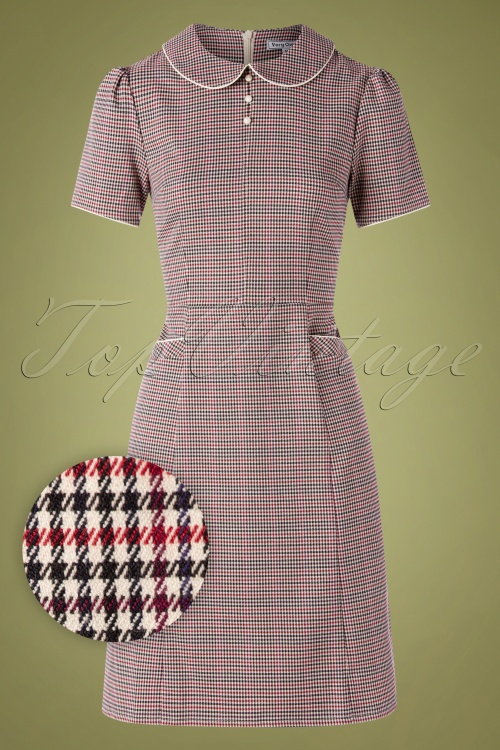 Very Cherry 30000 Pan Collar Dress Chester 20190605 003W1