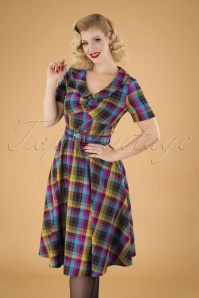 Vixen 30890  Camilla Plaid Dress 20190905 040MW