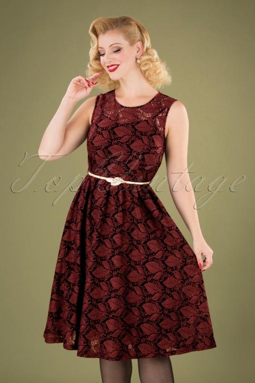 Vixen 30893 Sophia Black Red Dress 20190905 040MW