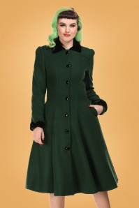 Collectif 29861 Claudia coat & cape in green 20190430 020L