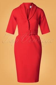 Closet 32041 Red Dress 20190923 003W