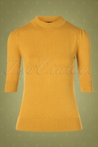 Collectif TV 30802 Turtle Mustard Knitted Chrissie 12 0001W