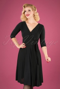 Vintage Chic 31247 Black Dress 20190830 040M W