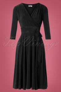 Vintage Chic 31247 Black Dress 20190830 002W